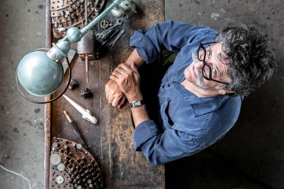 Hervé Obligi : a master of art in Montreuil