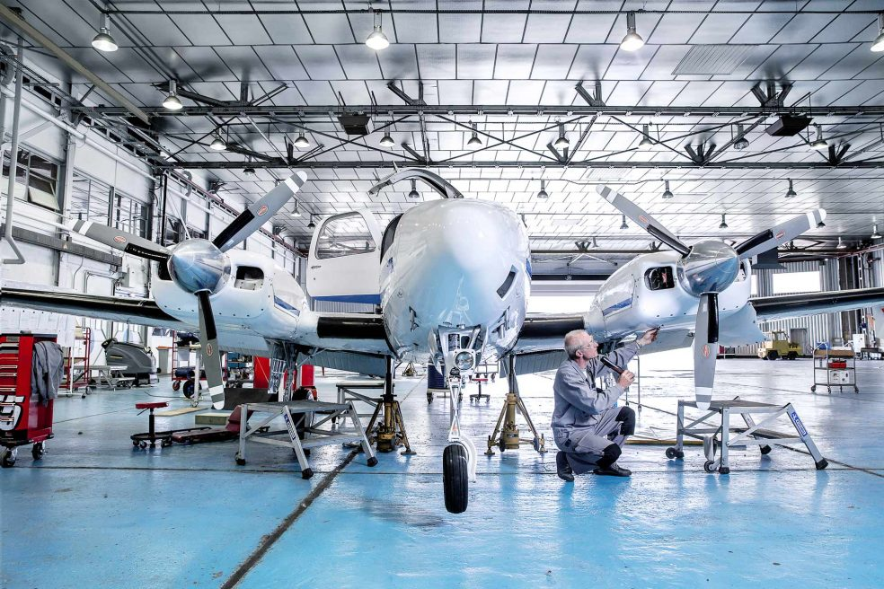 Rebirth of the Villaroche flight test center