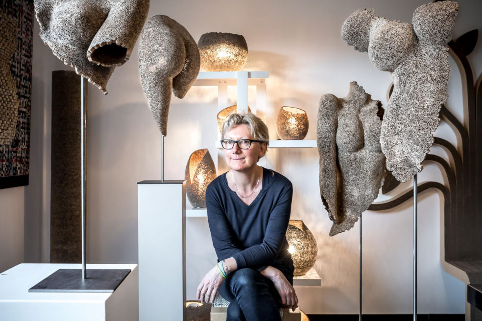 Marie-Anne THIEFFRY : When cardboard becomes flesh