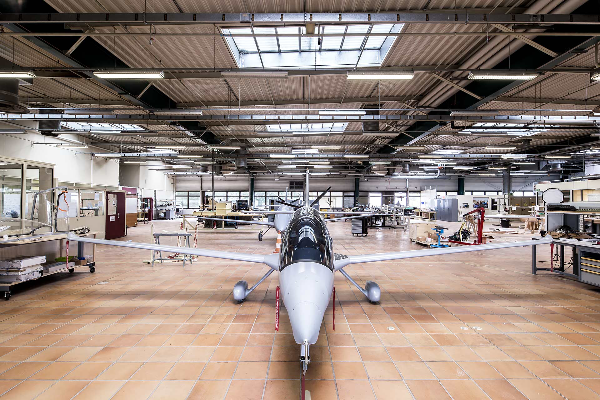 rebirth of the Villaroche flight test center