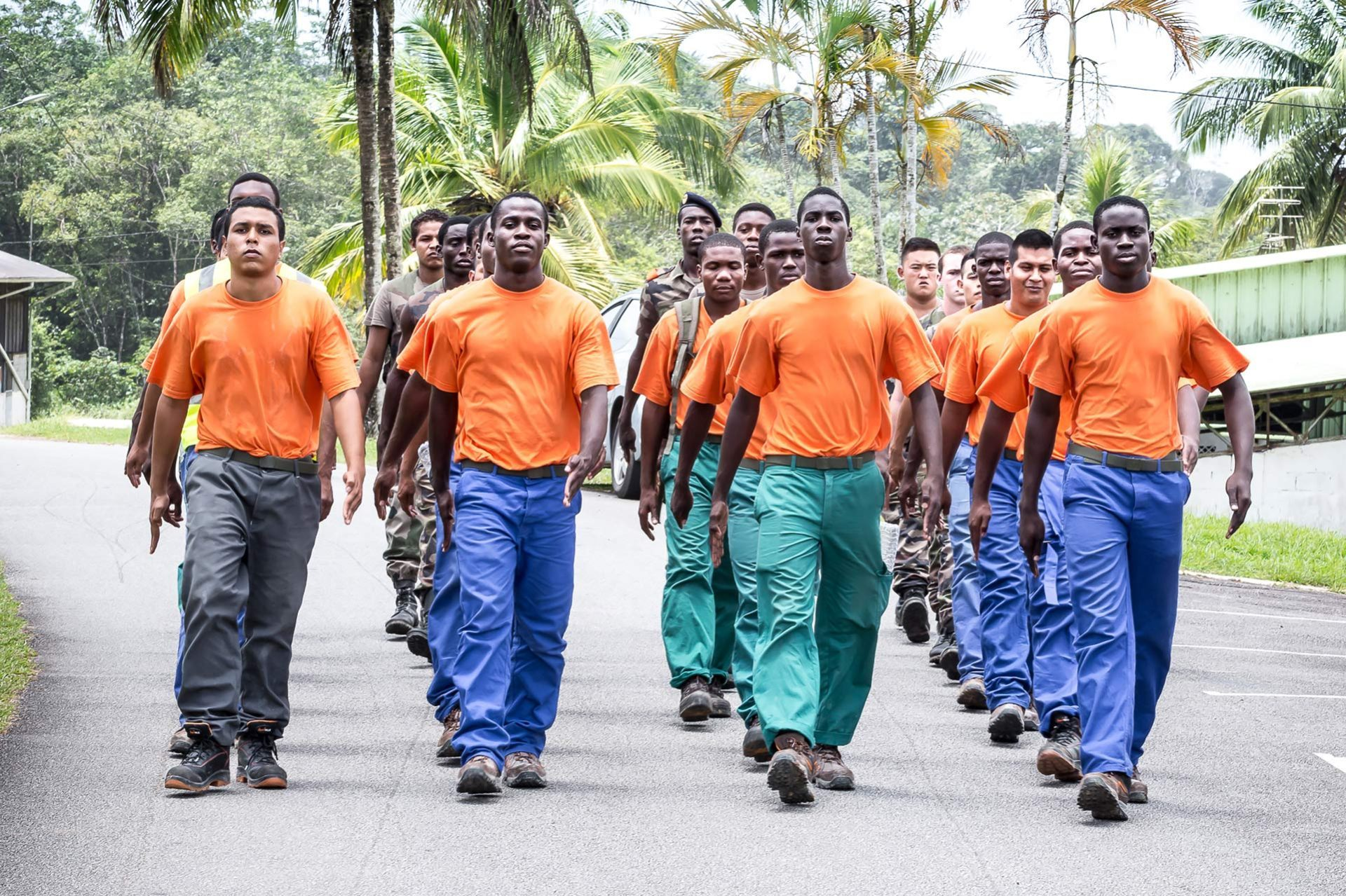 French Guyana, when army prepares for civilian life