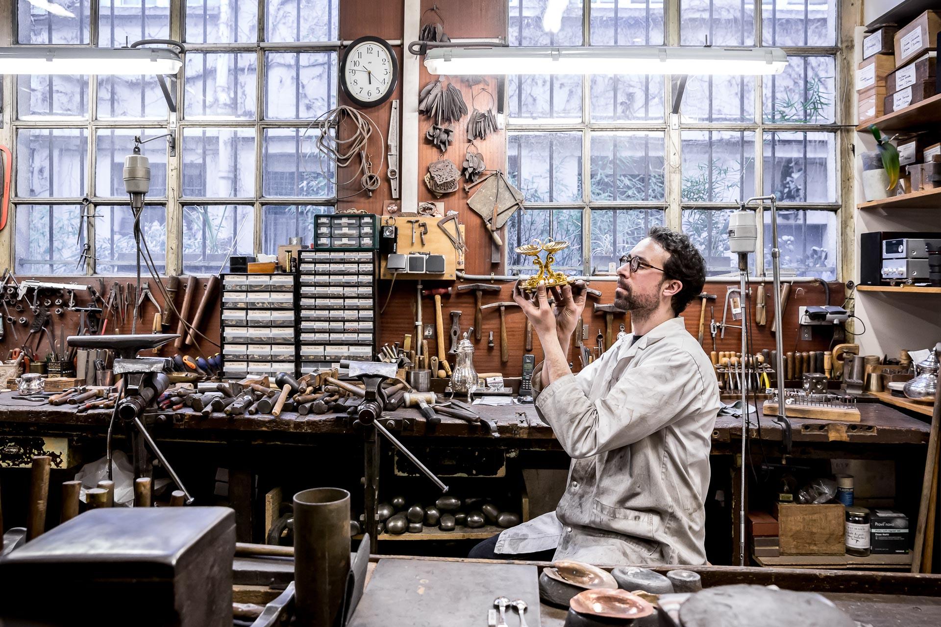 Richard House, a centenary silversmith in Paris