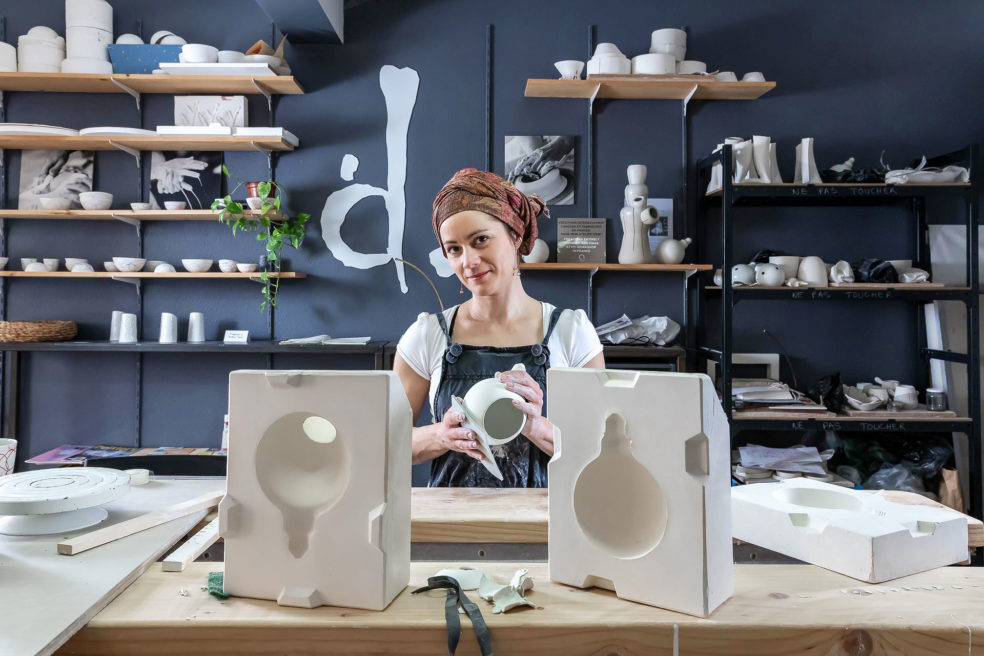 Delphine MILLET, the ceramist who dances with the hands