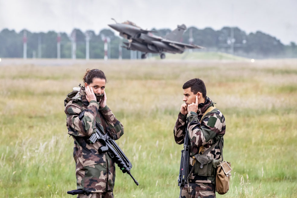 Tigers flights in French airspace
